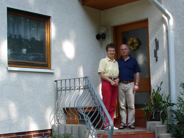 Familie Harzer, die Gastgeber der FeWo